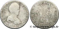 SPAIN 2 Reales Ferdinand VII 1810 Tarragone F