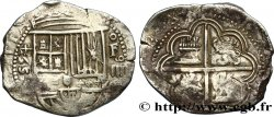 ESPAGNE - ROYAUME DESPAGNE - PHILIPPE II DE HABSBOURG 4 Reales 1594 Grenade TTB