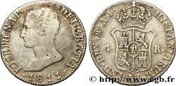SPAIN - KINGDOM OF SPAIN - JOSEPH NAPOLÉON 4 Reales 1811 Madrid VF/XF
