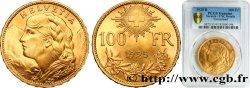 SUISSE 100 Francs Vreneli 1925 Berne SPL PCGS