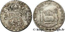 PÉROU - CHARLES III 8 Reales 1766 Lima TB+