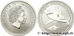 AUSTRALIE 50 Cents Grand requin blanc 2014 Melbourne SPL