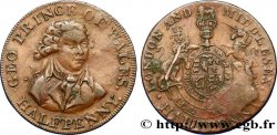 BRITISH TOKENS 1/2 Penny Middlesex Prince de Galles n.d.