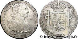 PERU 8 Reales Charles IV 1795 Lima VF/XF