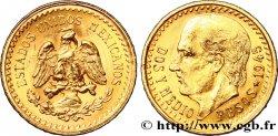 MEXIQUE 2 1/2 Pesos Miguel Hidalgo 1945 Mexico SUP