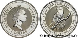 AUSTRALIA 1 Dollar kookaburra Proof  1995 Perth