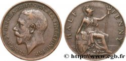 UNITED KINGDOM 1/2 Penny Georges V 1918