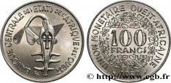 WEST AFRICAN STATES (BCEAO) 100 Francs BCEAO masque 1980 Paris