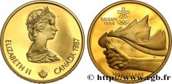 CANADA 100 Dollars Proof JO de Calgary 1988