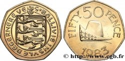 GUERNSEY 50 Pence 1983