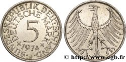 GERMANY 5 Mark aigle 1974 Hambourg - J