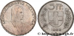SWITZERLAND 5 Francs Berger 1922 Berne