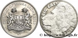 SIERRA LEONE 1 Dollar Proof Grands fauves : Lion 2020