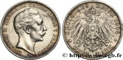 GERMANY - PRUSSIA 3 Mark Guillaume II 1908 Berlin
