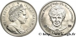 ISLE OF MAN 1 Crown Proof Hommage à la princesse Diana 2002 Pobjoy Mint