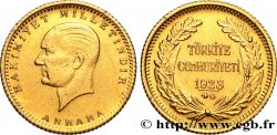 TURKEY 50 Kurush or Kemal Ataturk 1923, An 46 (1968) Ankara