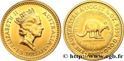 AUSTRALIA 15 Dollars (1/10 Once) Proof Elisabeth II 1992