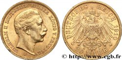 ALEMANIA - PRUSIA 20 Mark Guillaume II 1910 Berlin