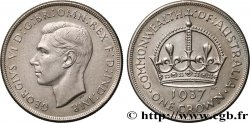 AUSTRALIE 1 Crown Georges VI 1937 Melbourne