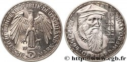 ALLEMAGNE 5 Mark Gerhard Mercator Proof 1969 Stuttgart