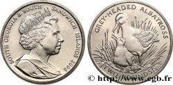 SOUTH GEORGIA AND SOUTH SANDWICH ISLANDS 2 Pounds (2 Livres) Proof Albatros à tête grise 2006 Pobjoy Mint