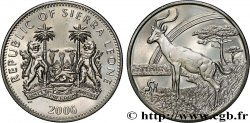 SIERRA LEONE 1 Dollar Proof Impala 2006 Pobjoy Mint