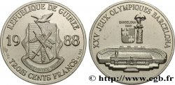 GUINEA 300 Francs XXV Jeux Olympiques Barcelone - Stade olympique 1988