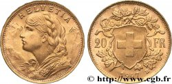 INVESTMENT GOLD 20 Francs or  Vreneli  1947 Berne