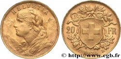 INVESTMENT GOLD 20 Francs or  Vreneli   1935 Berne