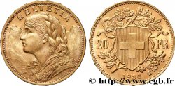 INVESTMENT GOLD 20 Francs  Vreneli  1930 Berne