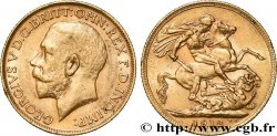 INVESTMENT GOLD 1 Souverain Georges V 1912 Londres