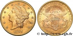 INVESTMENT GOLD 20 Dollars  Liberty  1897 Philadelphie