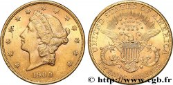 INVESTMENT GOLD 20 Dollars or  Liberty , avec In God we trust 1900 Philadelphie