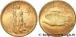 "INVESTMENT GOLD 20 Dollars ""Saint-Gaudens"" 1908 Philadelphie"