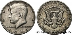 UNITED STATES OF AMERICA 1/2 Dollar Kennedy 1964 Philadelphie