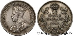 CANADA 10 Cents Georges V 1917