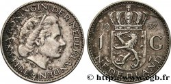 NETHERLANDS 1 Gulden Juliana 1957
