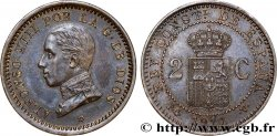 SPAIN 2 Centimos Alphonse XIII 1911 Madrid