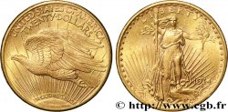 "INVESTMENT GOLD 20 Dollars  Saint-Gaudens"" 1914 San Francisco"