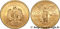 INVESTMENT GOLD 50 Pesos or 1947 Mexico