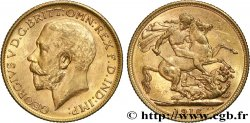 INVESTMENT GOLD 1 Souverain Georges V 1916 Melbourne