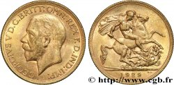 INVESTMENT GOLD 1 Souverain Georges V 1929 Perth