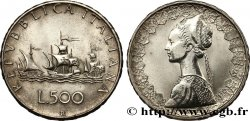 "ITALY 500 Lire ""caravelles"" 1960 Rome"