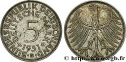 GERMANY 5 Mark aigle 1951 Munich