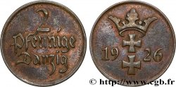 DANZIG (Free City of) 2 Pfennige 1923 Berlin