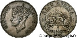 EAST AFRICA 1 Shilling Georges VI 1948 British Royal Mint