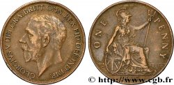UNITED KINGDOM 1 Penny Georges V 1927