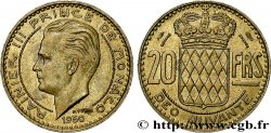 MONACO 20 Francs Rainier III 1950 Paris