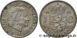 NETHERLANDS 1 Gulden Juliana 1954