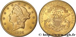INVESTMENT GOLD 20 Dollars  Liberty  1904 Philadelphie